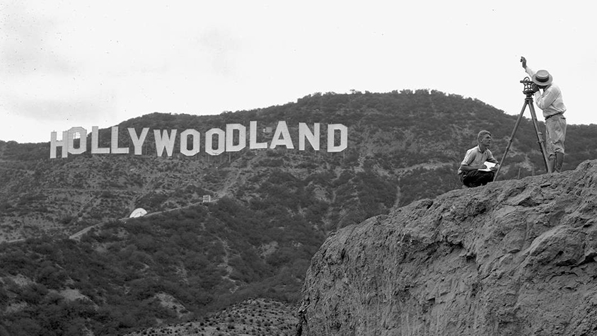 Sous le ciel d'Hollywood
