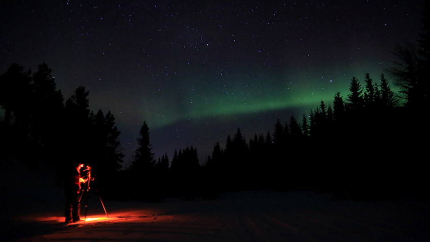 Are northern light the stuff that dreams are made off?